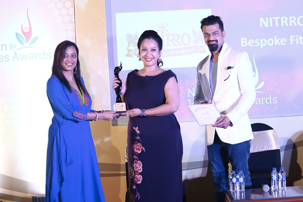 Nitrro Bespoke Fitness Bags the Best Gym in the county Award